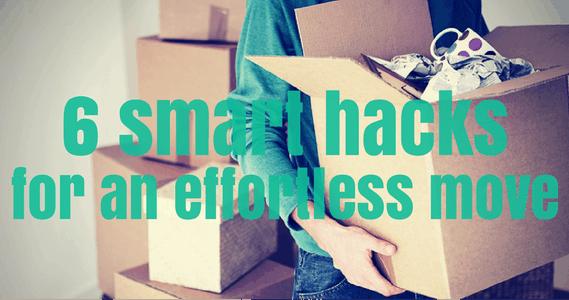 6 smart hacks for an effortless move