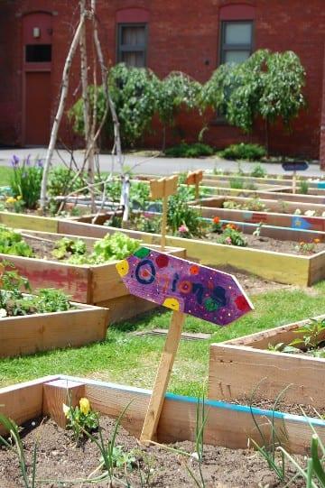 join a community garden