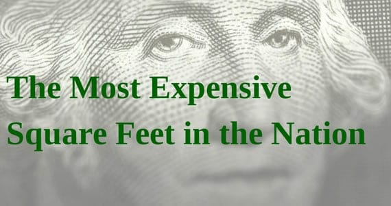 most expensive square feet