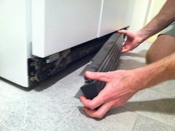 vacuum refrigerator coiils