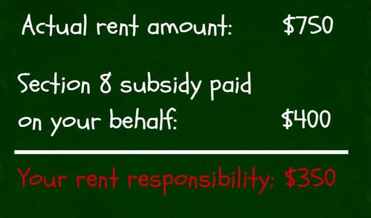 section 8 subsidy calculation