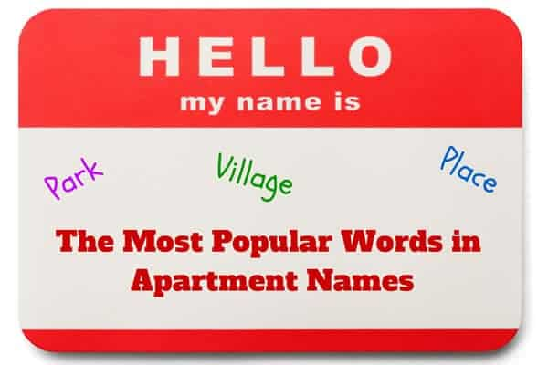 apartment names
