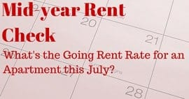 Mid-year Rent Check: What's the Going Rate for Apartment Rentals in Metros Nationwide?