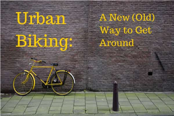 urban cycling for city transportation