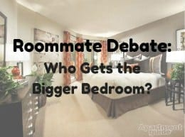who gets the bigger bedroom