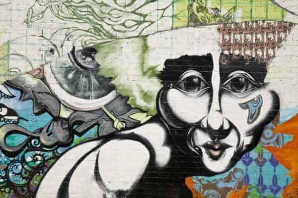 Urban Graffiti in Phoenix, Arizona (Chris Curtis)