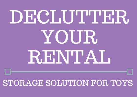 Declutter your rental