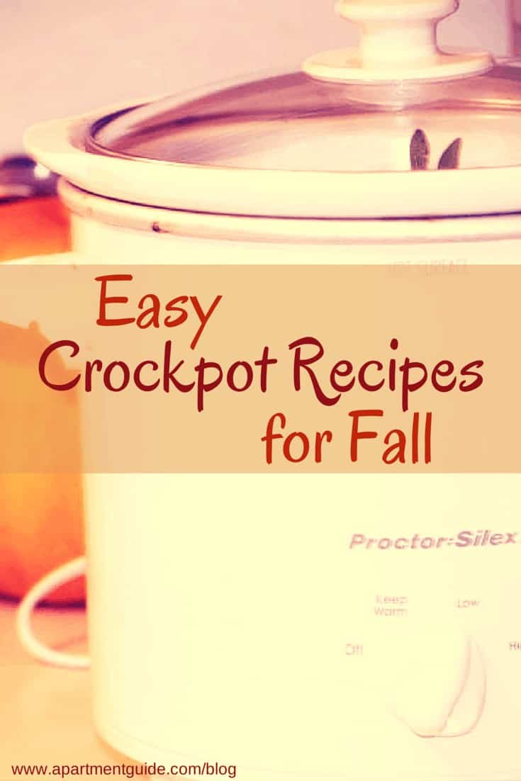 Easy Crockpot Recipes for Fall