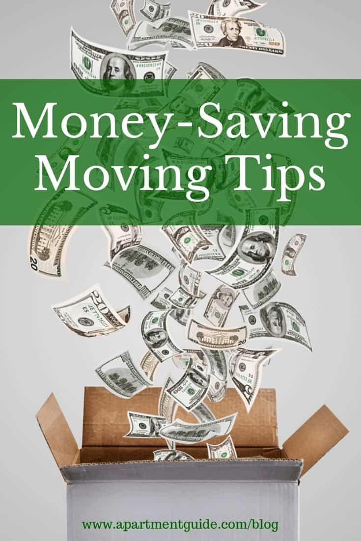 Money-Saving Tips for Moving | ApartmentGuide.com