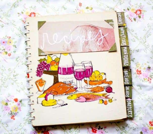 Rainy Day Activities - Recipe Scrapbook