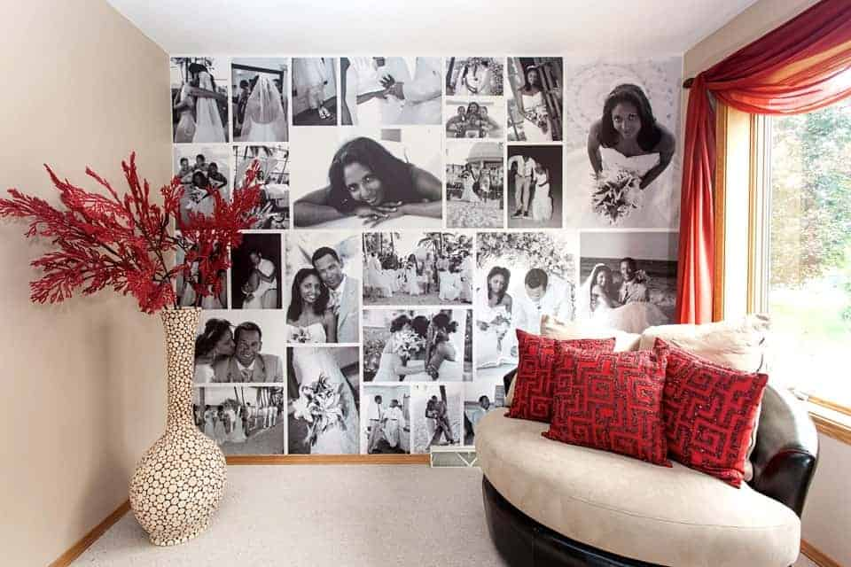 Wall Decor Ideas No Nails Required ApartmentGuidecom