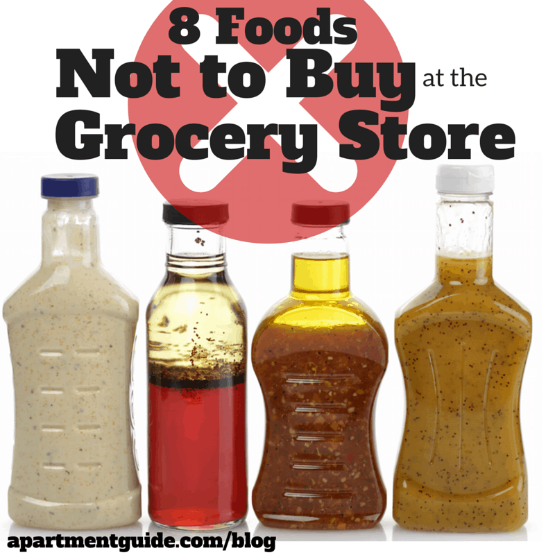 8 Foods Not to Buy at the Grocery Store