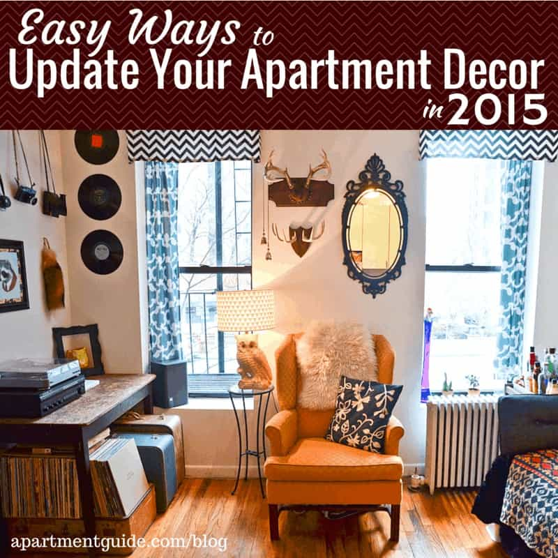 Easy ways to update your apartment decor in 2015 - Decorate a small apartment ...