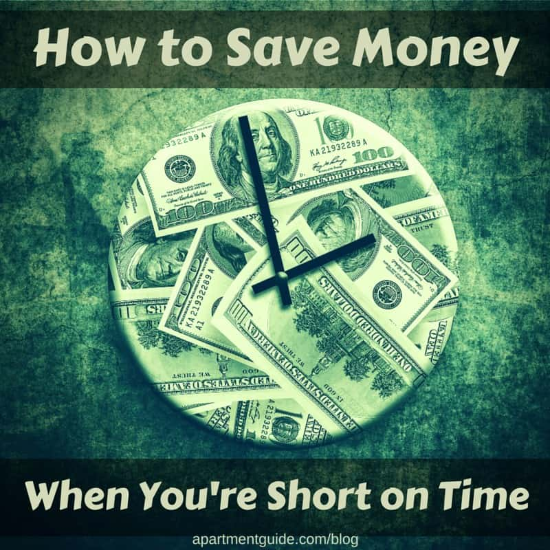 How to Save Money When You're Short on Time