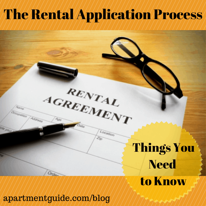 The Rental Application Process - Things You Need to Know
