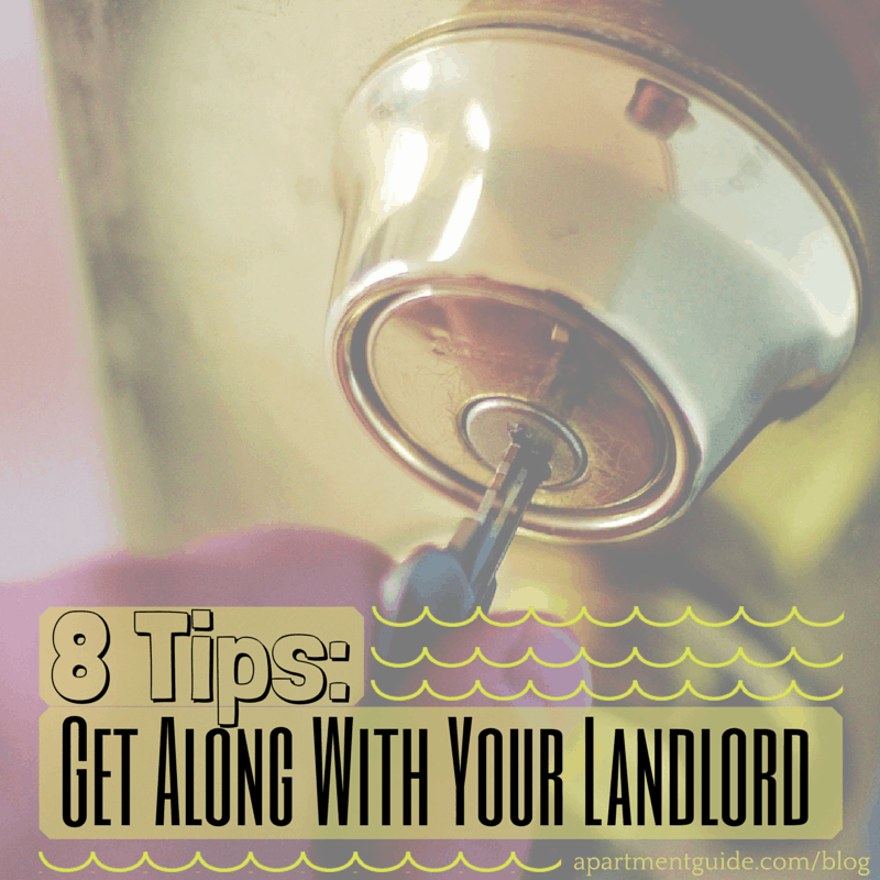 Apts Guide: 8 Tips To Help You Get Along With Your Landlord