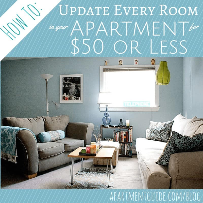 How to Update Every Room in Your Apartment for $50 or Less
