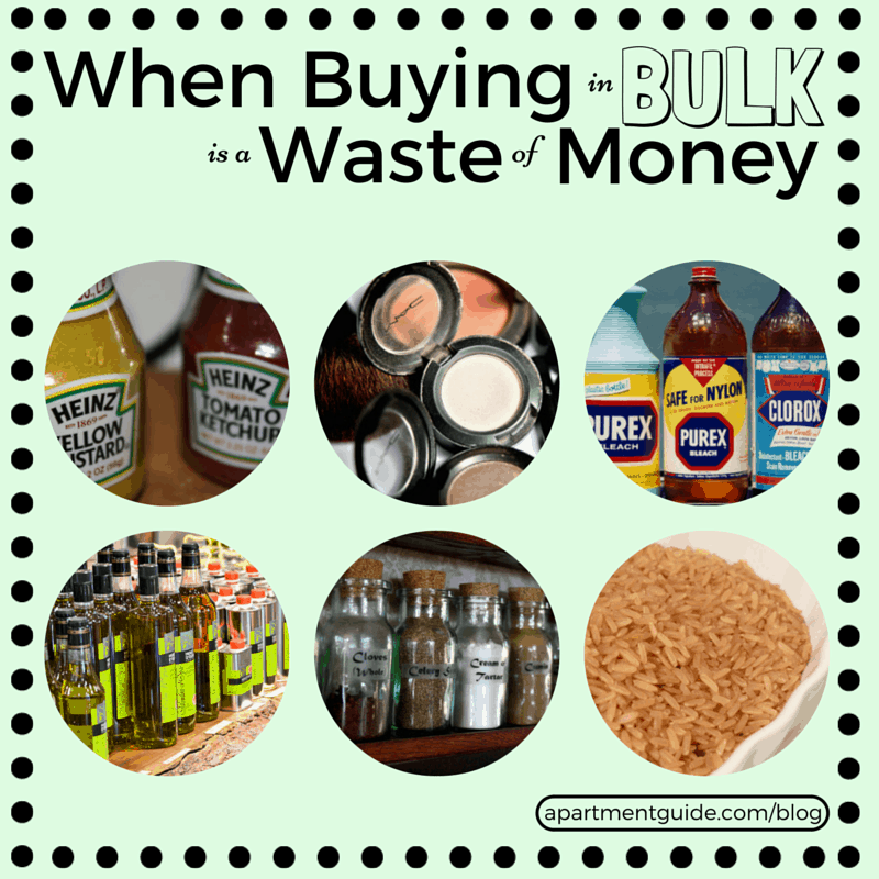 When Buying in Bulk is a Waste of Money - You're Not Always Saving Money When You Buy in Bulk!