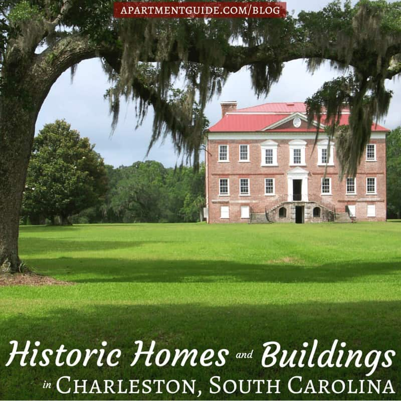 Best Apartment Hunting Sites: Historic Homes In Charleston, South Carolina