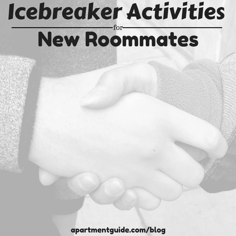 Icebreaker Activities for New Roommates