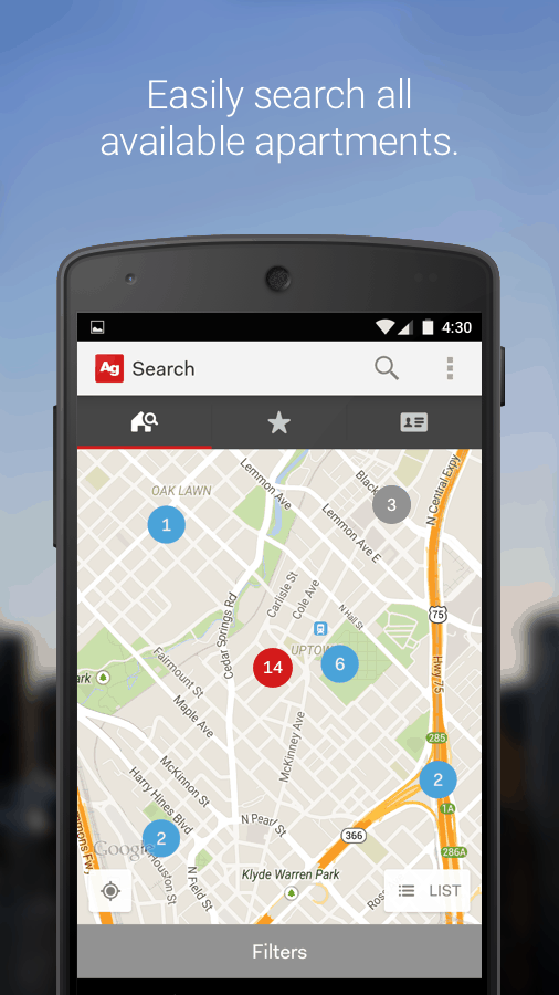 Introducing the New Apartment Guide App! A Better Search Experience