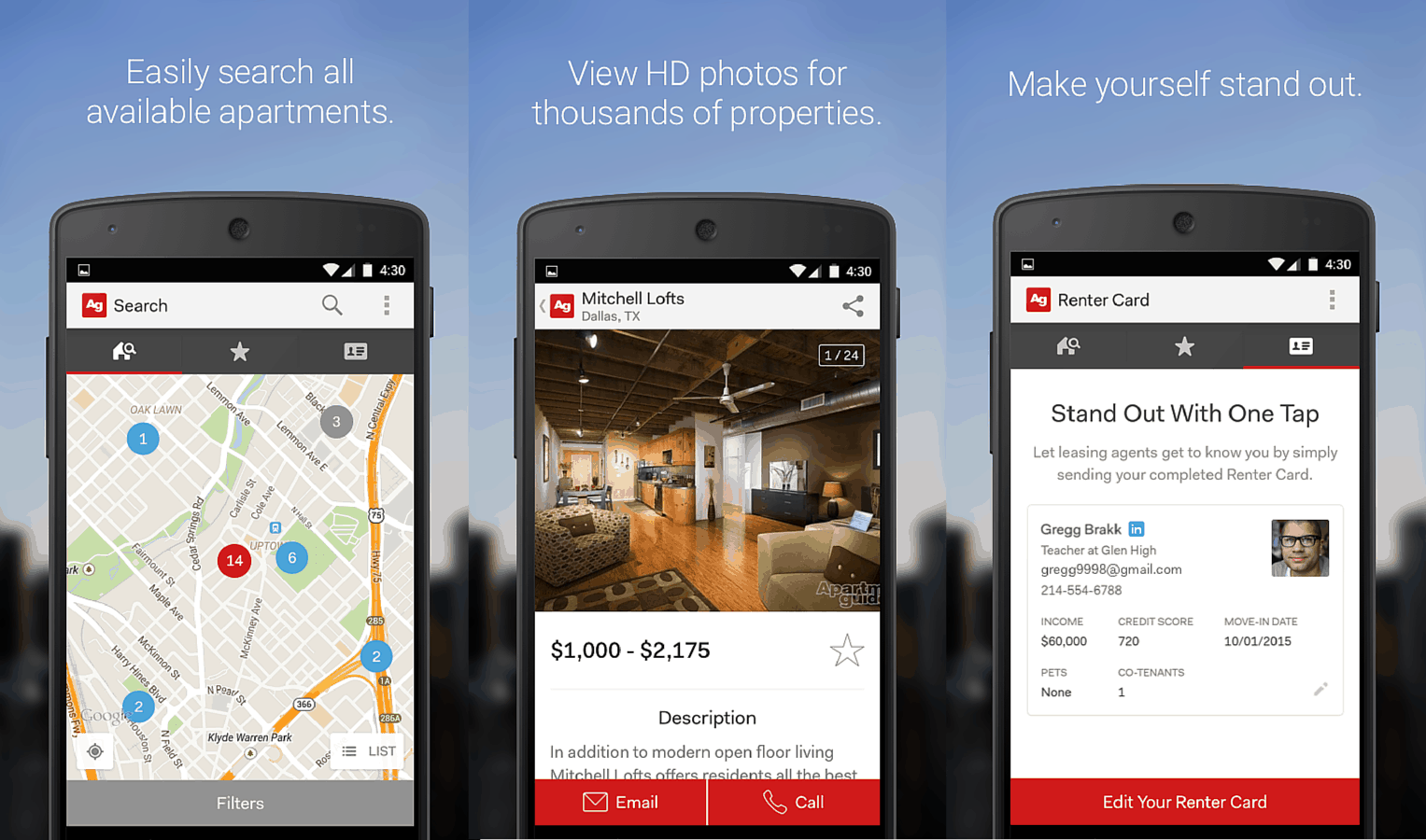 introducing the new apartment guide app! | apartmentguide