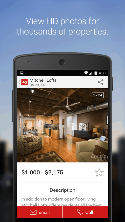 Introducing the New Apartment Guide App!
