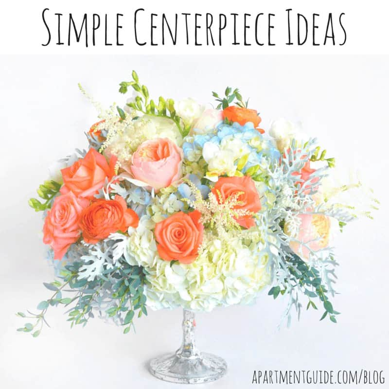 Simple Centerpiece Ideas for Entertaining