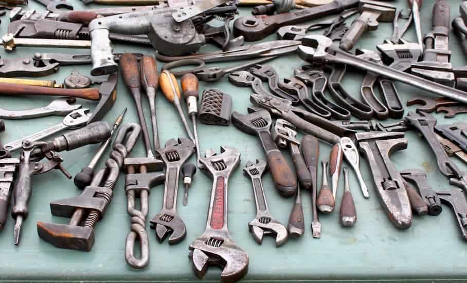 Second hand tools for sale