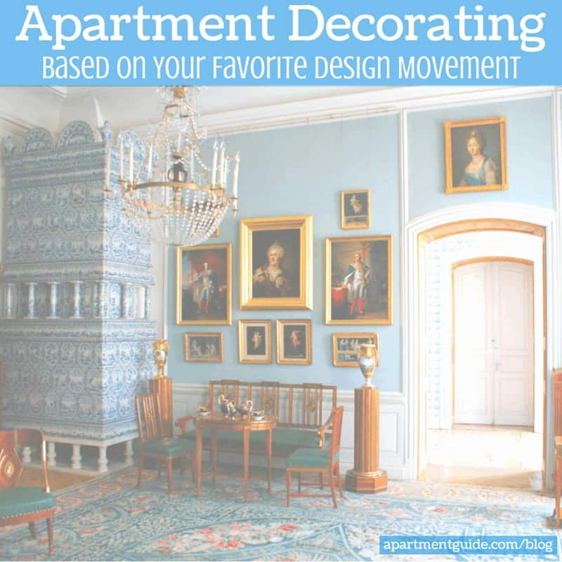 Tips for Apartment Decorating Based on Your Favorite Design Movement