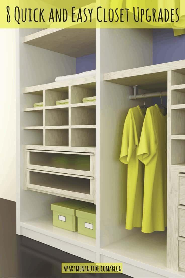 8 Quick and Easy Closet Upgrades
