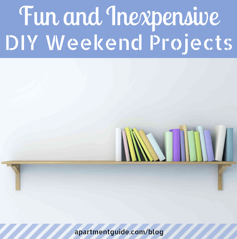 Apartguide: Fun Inexpensive DIY Weekend Projects
