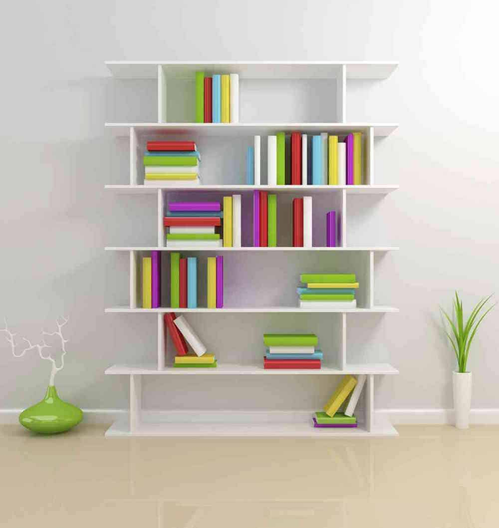Fun Inexpensive DIY Weekend Projects - Dress Up Your Bookshelf