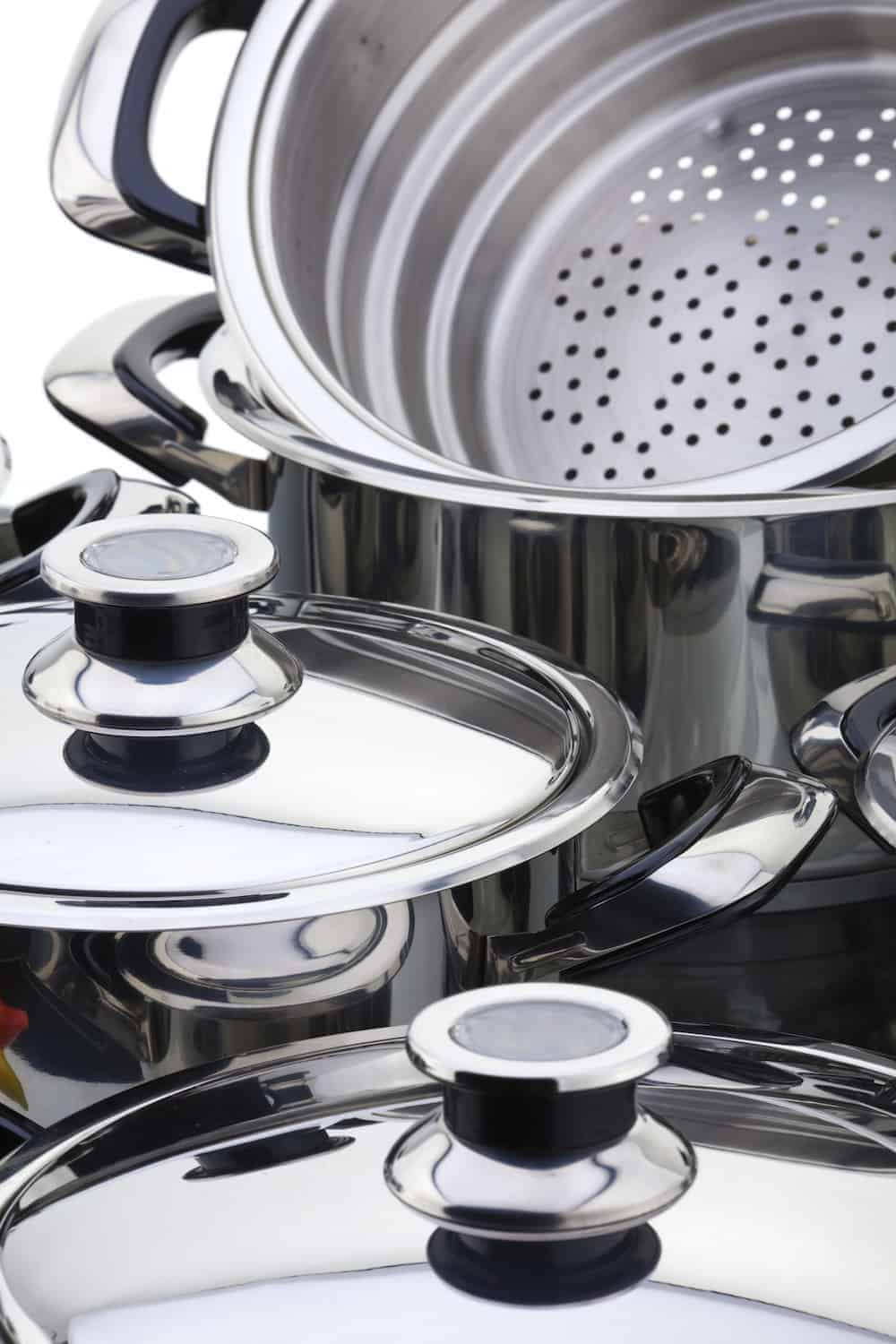How to Take Care of Your High-Quality Pots and Pans - Consider Material Stainless Steel
