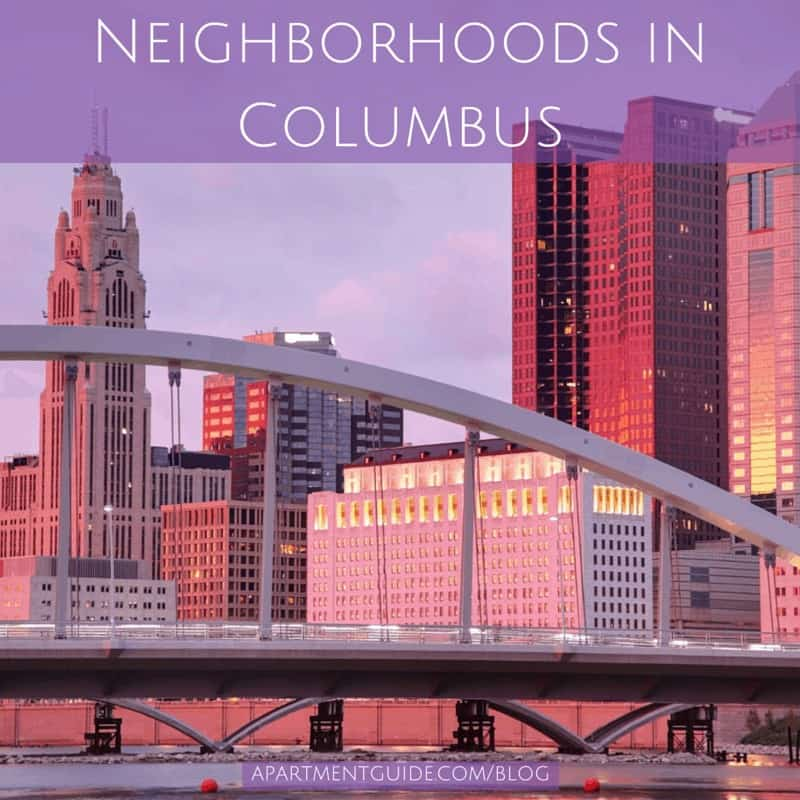 Neighborhoods and Apartments in Columbus Ohio
