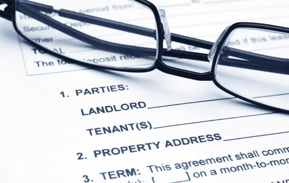 how to find out the lease on a property