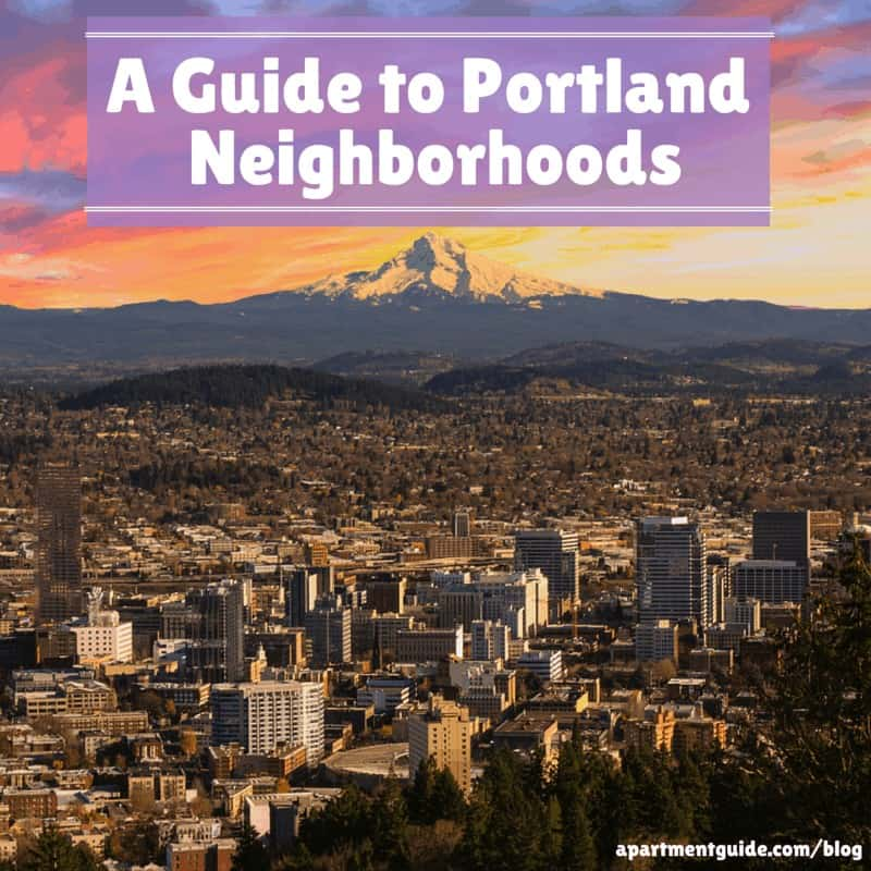 A Guide to Portland Neighborhoods
