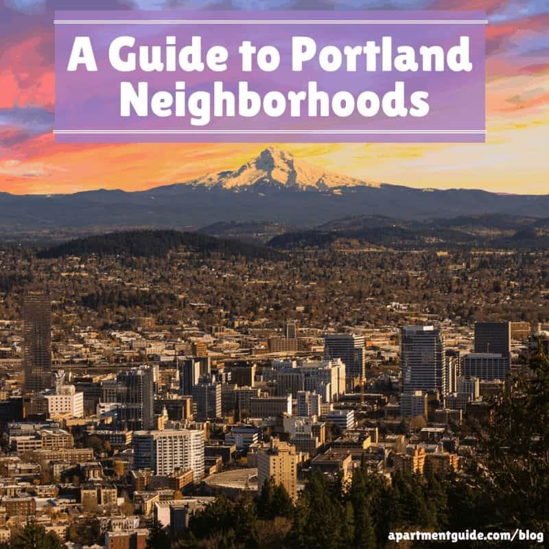 Las Vegas Apt Guide: A Guide To Portland Neighborhoods