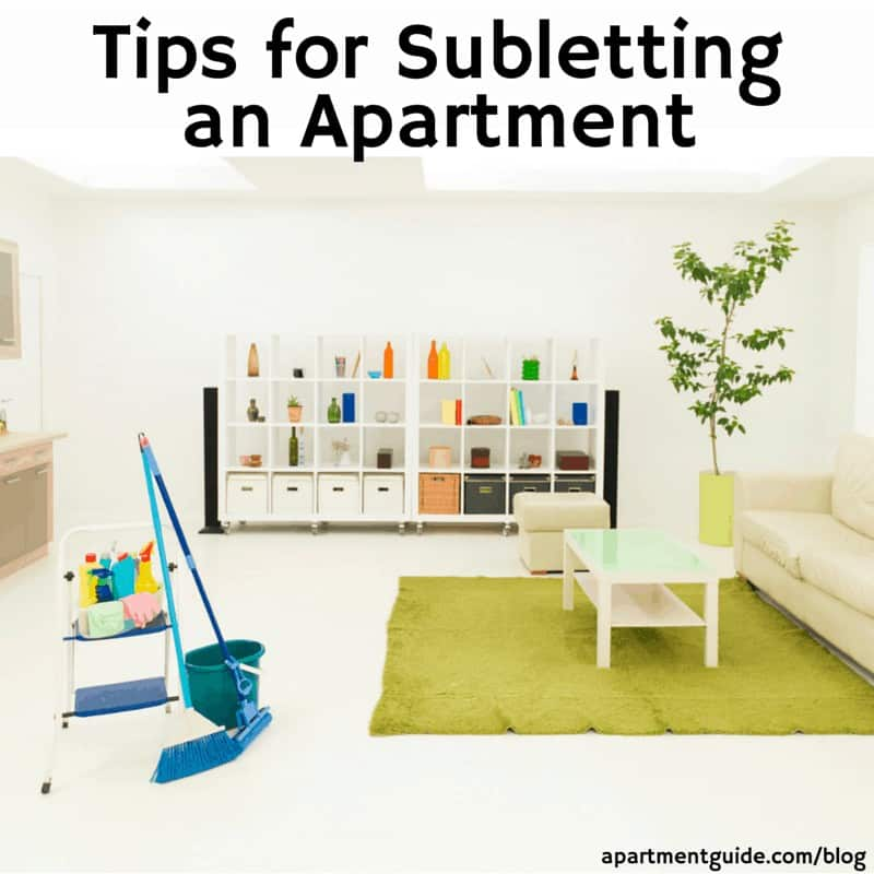 Tips for Subletting an Apartment