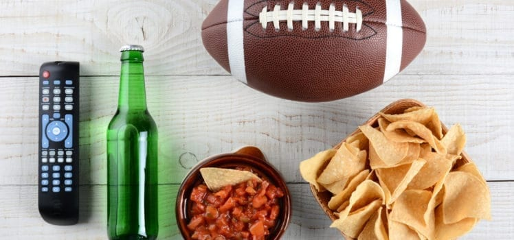 Host a tailgate party in your apartment