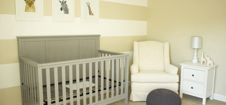 Nursery Design on a Budget 1