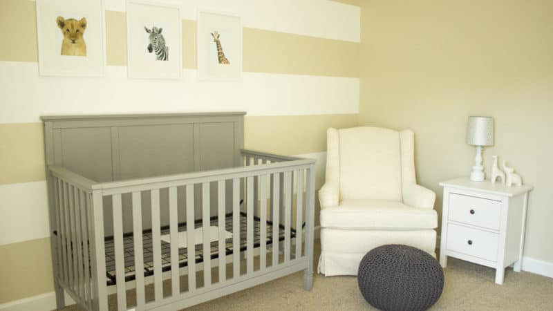 Nursery Design on a Budget 1