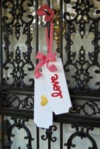 Valentine's Day Door Tags Image 1