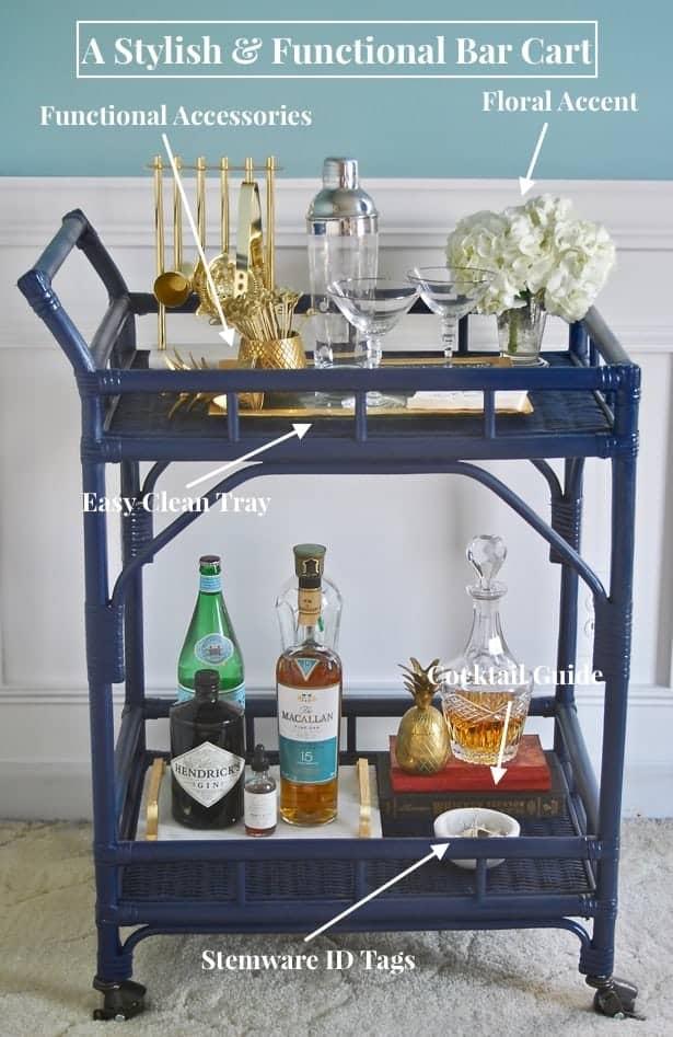 A Stylish Bar Cart