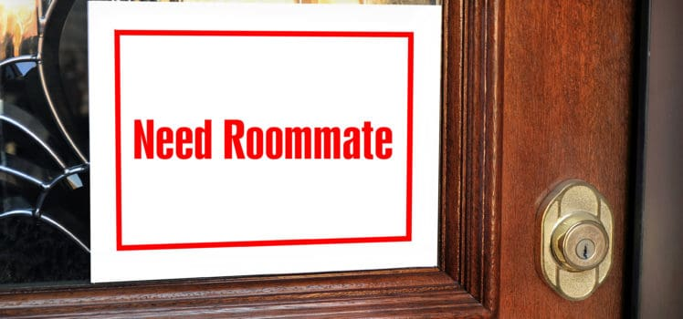Need Roommate Sign