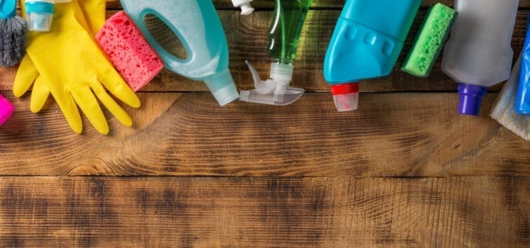 cleaning tools you'll need