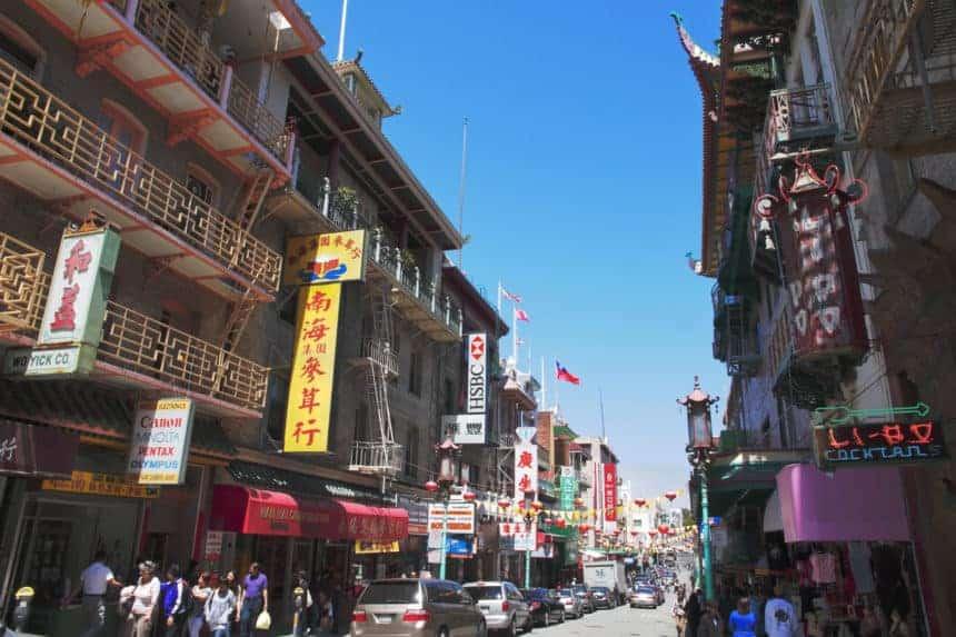 Grant Avenue - Chinatown - San Francisco - California