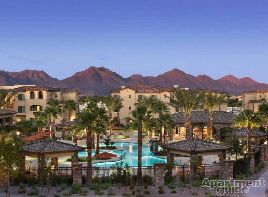North Scottsdale apartment with pool