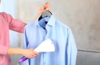 steaming versus ironing
