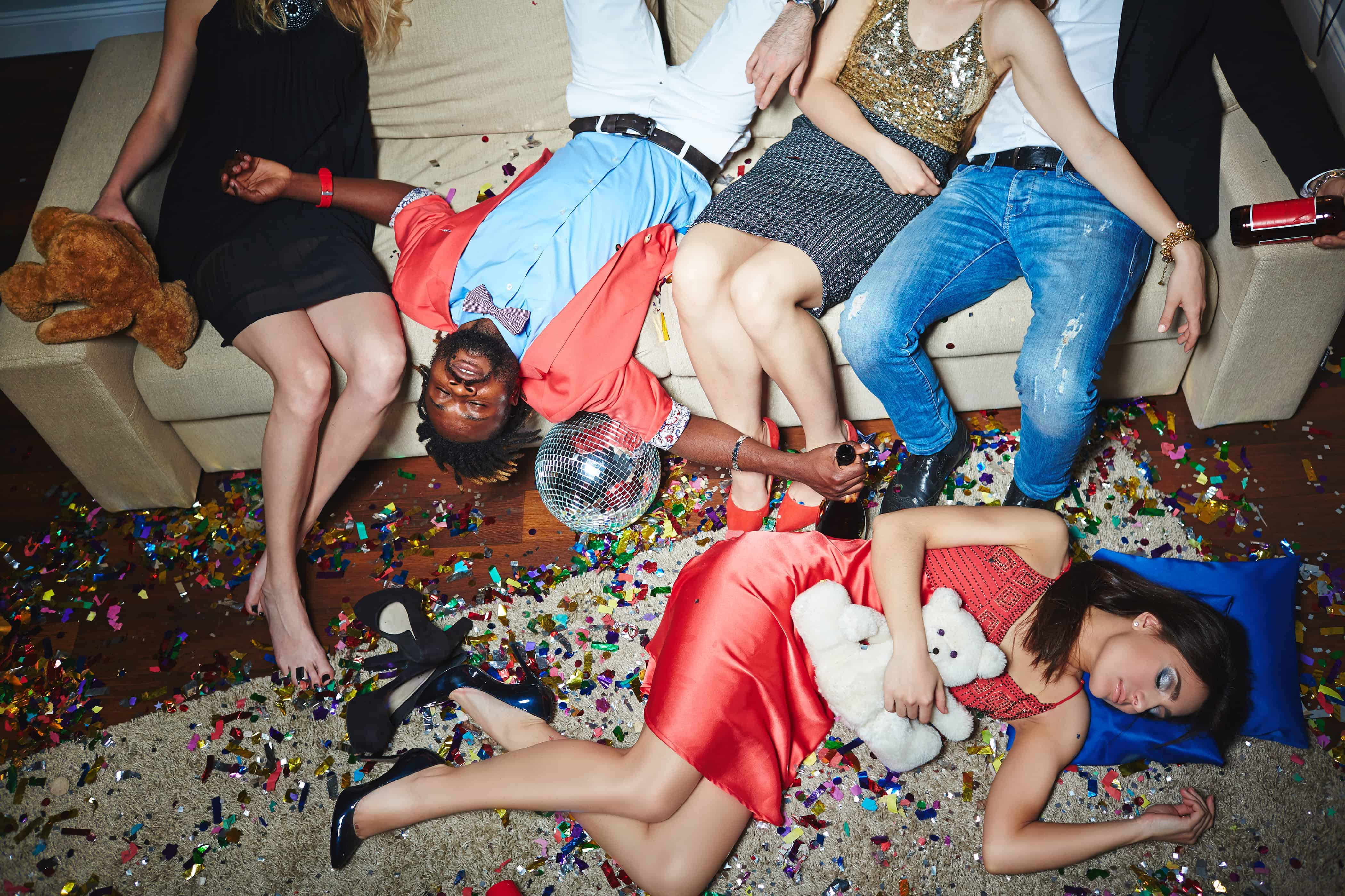 Днем, после вечеринки смешные картинки